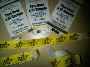 Ill at Will performs for Pete Rock and CL Smooth show in Toronto