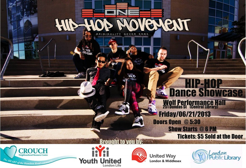 O.N.E. Movement Hip Hop Dance Showcase