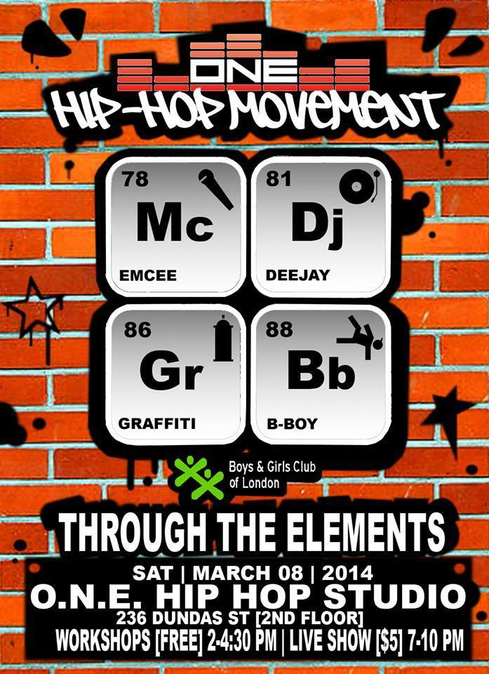 Through the Elements flyer