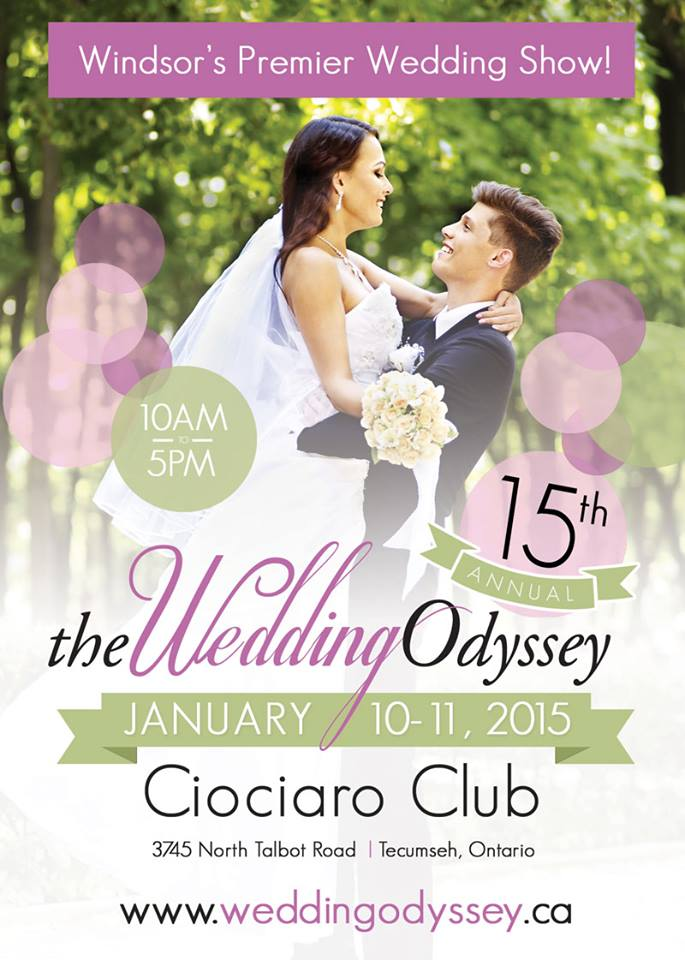 Wedding Odyssey Jan 10-11 2015